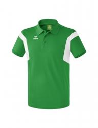 ERIMA Kinder / Herren Classic Team Poloshirt Classic Team smaragd/weiß