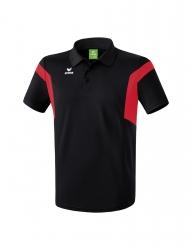ERIMA Kinder / Herren Classic Team Poloshirt Classic Team schwarz/rot