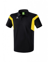 ERIMA Kinder / Herren Classic Team Poloshirt Classic Team schwarz/gelb