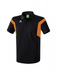 ERIMA Kinder / Herren Classic Team Poloshirt Classic Team schwarz/orange