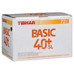 Tibhar Ball Basic 40+ SL 72er weiß