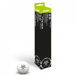 GEWO Ball Ultra SLP 40+ *** 6er weiß