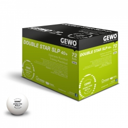GEWO Ball Double Star SLP 40+ 72er weiß