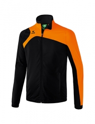 ERIMA Kinder / Herren Club 1900 2.0 Polyesterjacke CLUB 1900 2.0 schwarz/orange