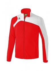 ERIMA Kinder / Herren Club 1900 2.0 Polyesterjacke CLUB 1900 2.0 rot/weiß