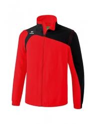 ERIMA Kinder / Herren Club 1900 2.0 Jacke mit abnehmbaren Ärmeln CLUB 1900 2.0 rot/schwarz
