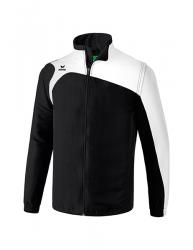 ERIMA Kinder / Herren Club 1900 2.0 Jacke mit abnehmbaren Ärmeln CLUB 1900 2.0 schwarz/weiß