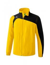 ERIMA Kinder / Herren Club 1900 2.0 Jacke mit abnehmbaren Ärmeln CLUB 1900 2.0 gelb/schwarz