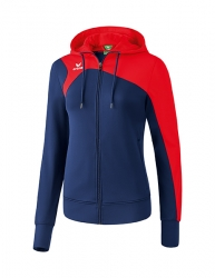 ERIMA Women Club 1900 2.0 Training Jacket with Hood CLUB 1900 2.0 new navy/rot