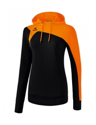 ERIMA Women Club 1900 2.0 Hoody CLUB 1900 2.0 schwarz/orange