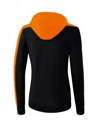 ERIMA Frauen Club 1900 2.0 Kapuzensweat CLUB 1900 2.0 schwarz/orange