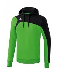 ERIMA Club 1900 2.0 Kapuzensweat green/schwarz