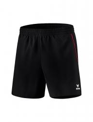 ERIMA Kinder / Herren Tischtennis Short Hosen Basics schwarz/rot