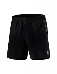 ERIMA Kinder / Herren Tischtennis Short Hosen Basics schwarz/green (Restposten)
