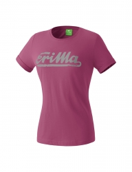 ERIMA Kinder / Frauen RETRO t-shirt Casual Basics dahlia/grau