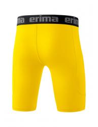 ERIMA Kinder / Herren Elemental Tight kurz gelb (+3% Zusatzrabatt)