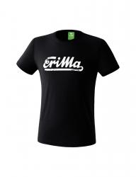 ERIMA Kinder / Herren RETRO t-shirt Casual Basics schwarz/weiß