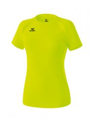 ERIMA Frauen PERFORMANCE T-Shirt neon gelb