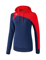 ERIMA Women Club 1900 2.0 Hoody CLUB 1900 2.0 new navy/rot