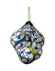 ERIMA Ballnetz für 5 Bälle schwarz/green