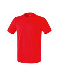 ERIMA Kinder / Herren Funktions Teamsport T-Shirt Casual Basics rot
