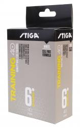Stiga Trainingsball Training ABS, 6-er Packung