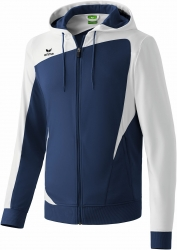 ERIMA Herren CLUB 1900 Trainingsjacke mit Kapuze CLUB 1900 new navy/weiß (Restposten)