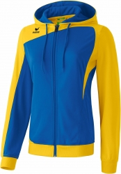 ERIMA Frauen Club 1900 Trainingsjacke mit Kapuze CLUB 1900 new royal/gelb (Restposten)