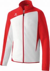 ERIMA Herren CLUB 1900 Polyesterjacke weiß/rot (Restposten) (2% Zusatzrabatt bei Vorkasse ab 200,00 ¤ Bestellwert)