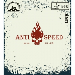 Der Materialspezialist Belag Anti-Speed