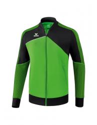 ERIMA Premium One 2.0 Präsentationsjacke green/schwarz/weiß