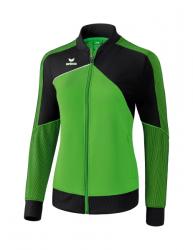 ERIMA Damen Premium One 2.0 Präsentationsjacke green/schwarz/weiß