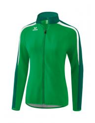 ERIMA Damen Liga 2.0 Präsentationsjacke smaragd/evergreen/weiß