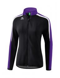 ERIMA Damen Liga 2.0 Präsentationsjacke schwarz/violet/weiß