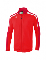 ERIMA Kinder / Herren Liga 2.0 Trainingsjacke LIGA LINE 2.0 rot/dunkelrot/weiß
