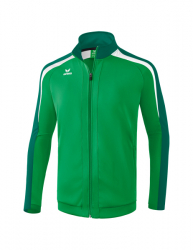 ERIMA Kinder / Herren Liga 2.0 Trainingsjacke LIGA LINE 2.0 smaragd/evergreen/weiß