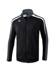 ERIMA Kinder / Herren Liga 2.0 Trainingsjacke LIGA LINE 2.0 schwarz/weiß/dunkelgrau