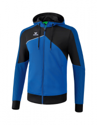 ERIMA Premium One 2.0 Trainingsjacke mit Kapuze new royal/schwarz/weiß