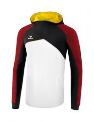 ERIMA Kinder / Herren Premium One 2.0 Kapuzensweat PREMIUM ONE 2.0 weiß/schwarz/rot/gelb