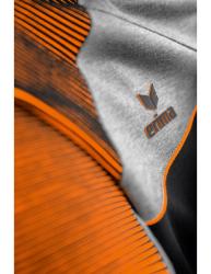 ERIMA Frauen Premium One 2.0 Kapuzensweat PREMIUM ONE 2.0 schwarz/grau melange/neon orange