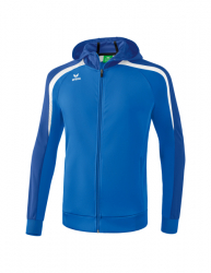 ERIMA Kinder / Herren Liga 2.0 Trainingsjacke mit Kapuze LIGA LINE 2.0 new royal/true blue/weiß