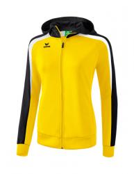 ERIMA Frauen Liga 2.0 Trainingsjacke mit Kapuze LIGA LINE 2.0 gelb/schwarz/weiß