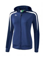 ERIMA Frauen Liga 2.0 Trainingsjacke mit Kapuze LIGA LINE 2.0 new navy/dark navy/weiß