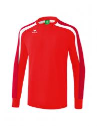 ERIMA Kinder / Herren Liga 2.0 Sweatshirt LIGA LINE 2.0 rot/dunkelrot/weiß