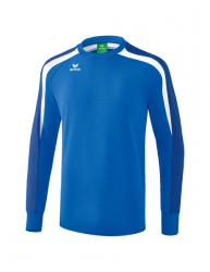 ERIMA Liga 2.0 Sweatshirt new royal/true blue/weiß