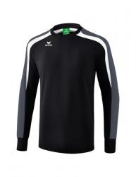 ERIMA Kinder / Herren Liga 2.0 Sweatshirt LIGA LINE 2.0 schwarz/weiß/dunkelgrau