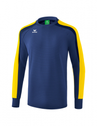 ERIMA Liga 2.0 Sweatshirt new navy/gelb/dark navy