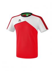 ERIMA Kinder / Herren Premium One 2.0 T-Shirt PREMIUM ONE 2.0 rot/weiß/schwarz