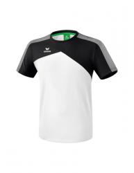 ERIMA Kinder / Herren Premium One 2.0 T-Shirt PREMIUM ONE 2.0 weiß/schwarz/weiß