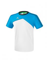 ERIMA Kinder / Herren Premium One 2.0 T-Shirt PREMIUM ONE 2.0 weiß/curacao/schwarz